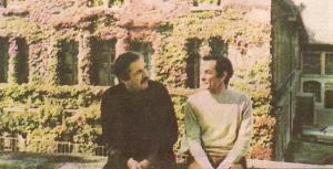 Luis Loayza y Abelardo Oquendo en Ginebra